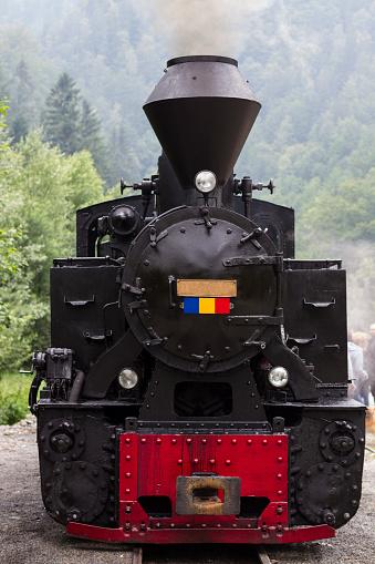 Working Steam Locomotive Front