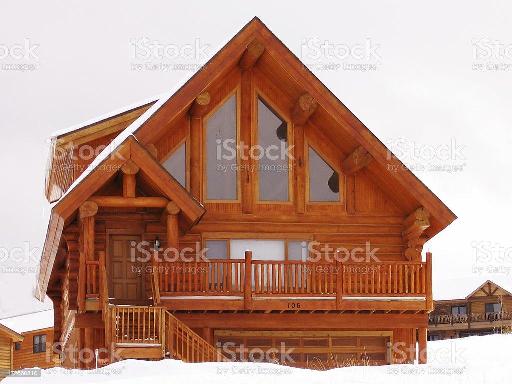 Lodge royalty-free stock photo