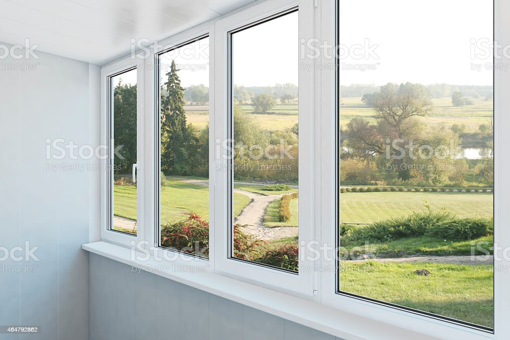 loggia stock photo