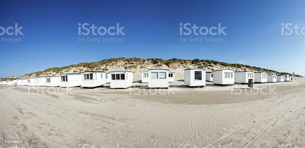 Loekken beach royalty-free stock photo
