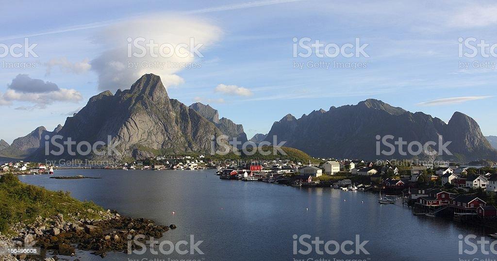Lofoten archipelago royalty-free stock photo