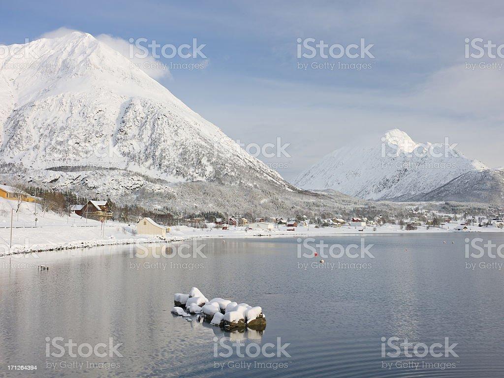 Lofoten Island View royalty-free stock photo