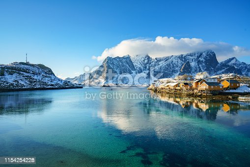 Lofoten islands in Northern Norway