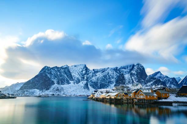 Lofoten Inseln in Nordnorwegen – Foto