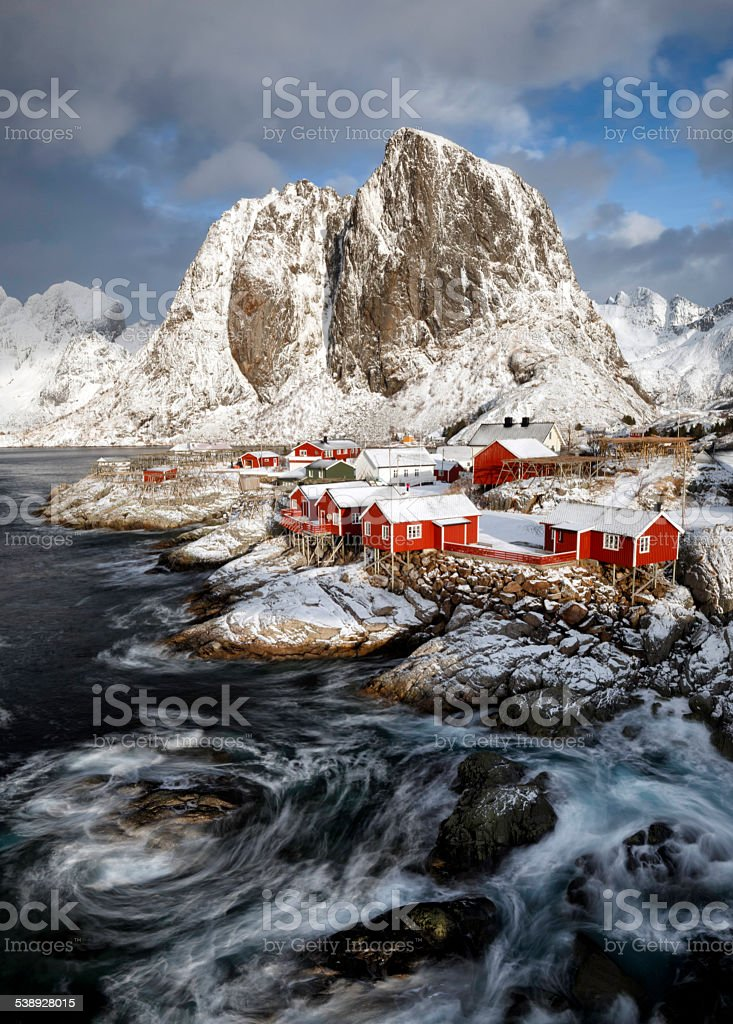 Lofoten Islands stock photo