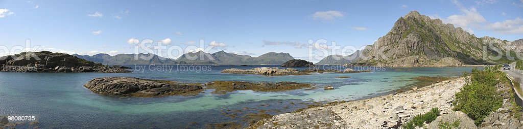 Iles Lofoten (Henningsvaer) royalty-free stock photo