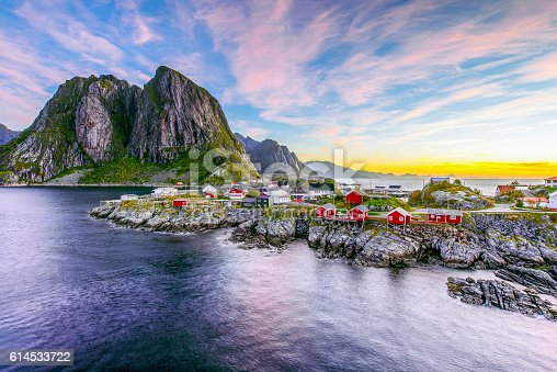 istock Lofoten, Norway in the morning 614533722