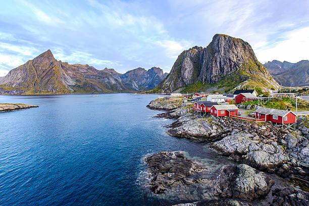 Lofoten, Noruega - foto de acervo
