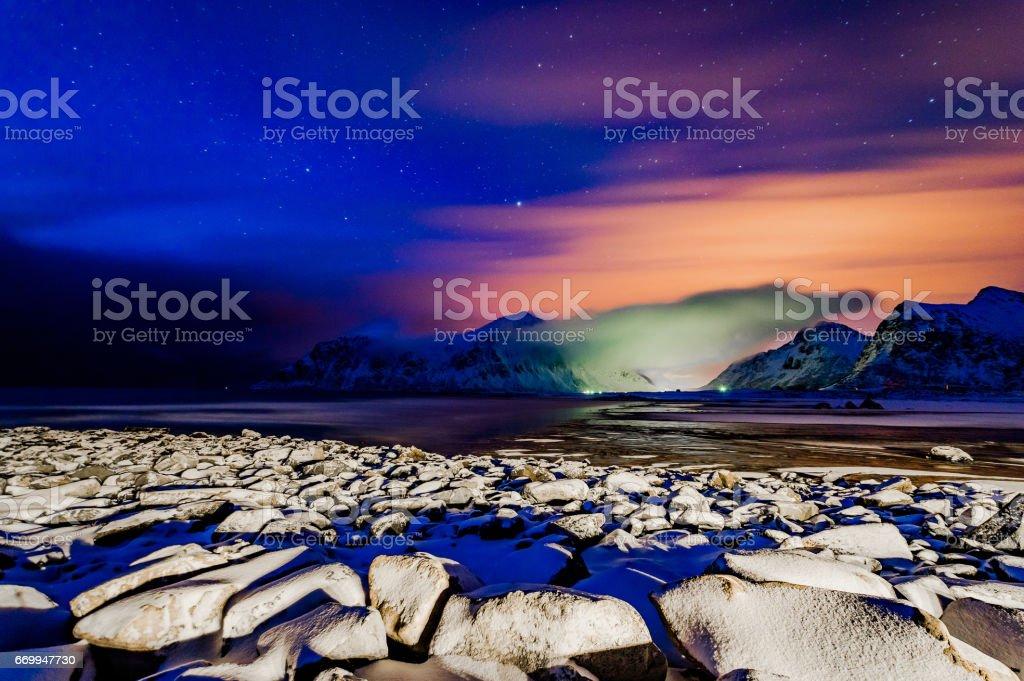 Lofoten stok fotoğrafı