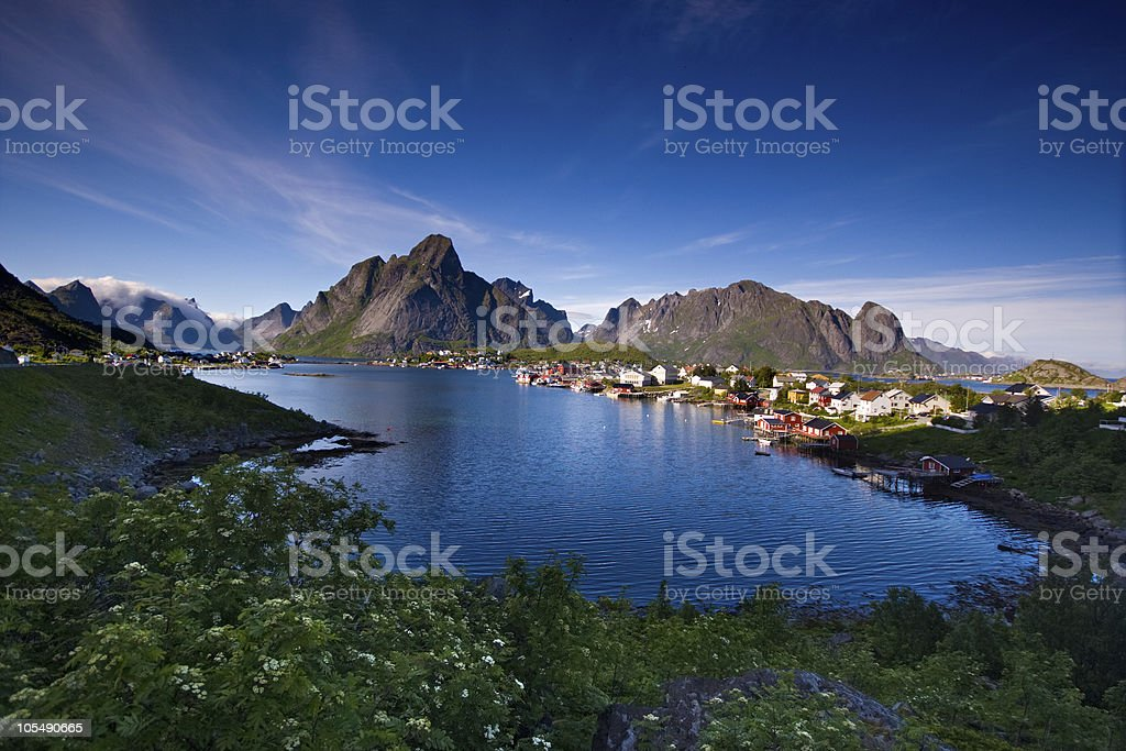 Lofoten (Norway), Reine royalty-free stock photo