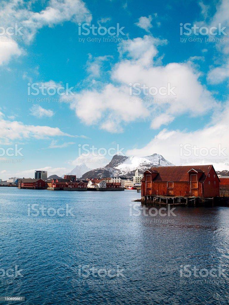 Lofoten, Svolvaer. royalty-free stock photo
