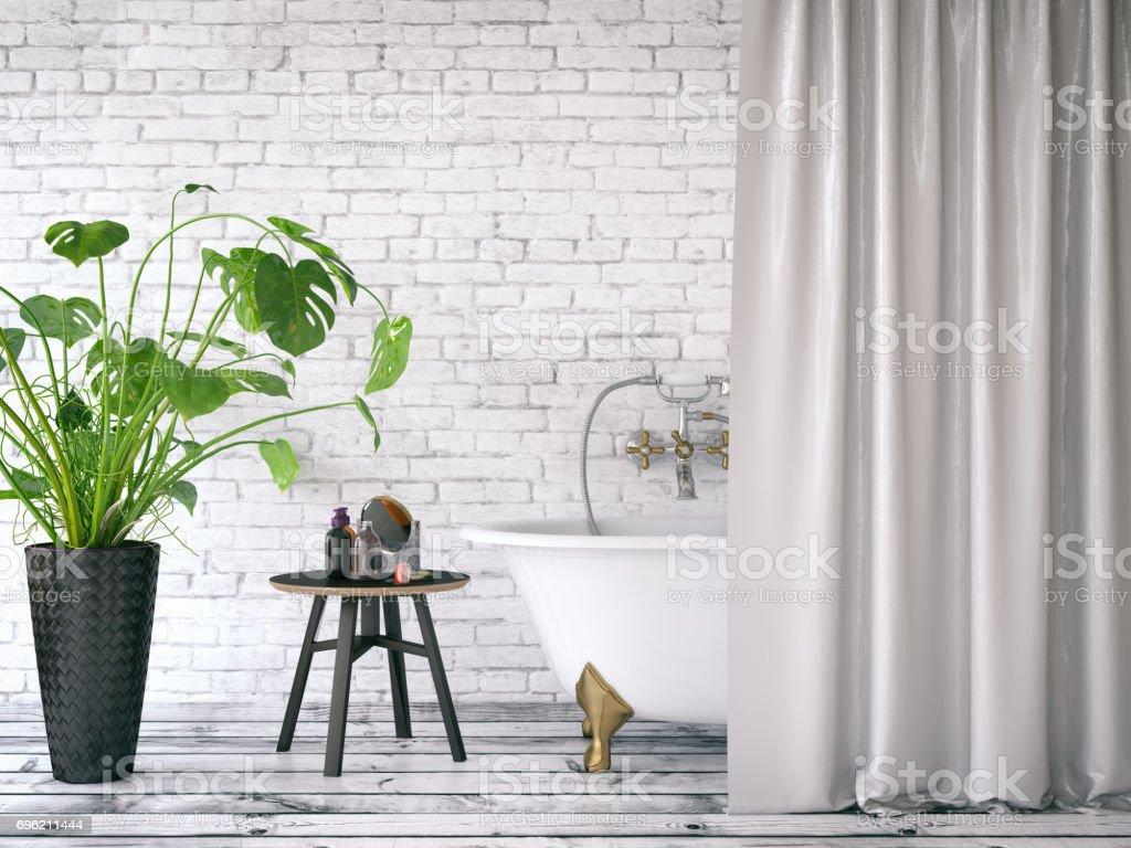 Loft Bathroom - foto stock