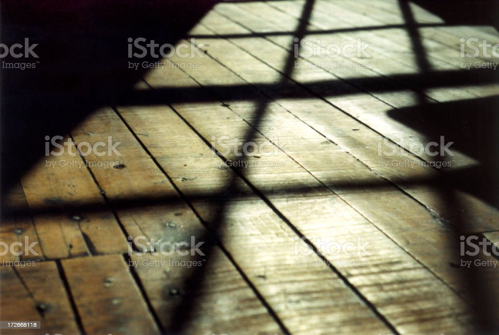 Loft Floor Up Close royalty-free stock photo