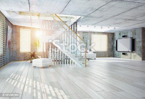 istock loft  interior 519106283