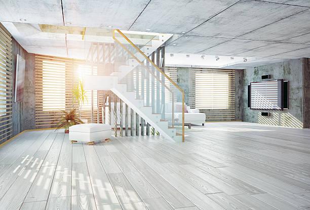 loft-Innenansicht – Foto