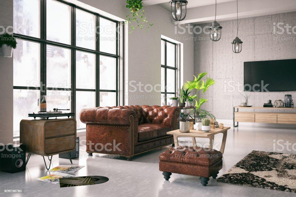 Interior do Loft - foto de acervo