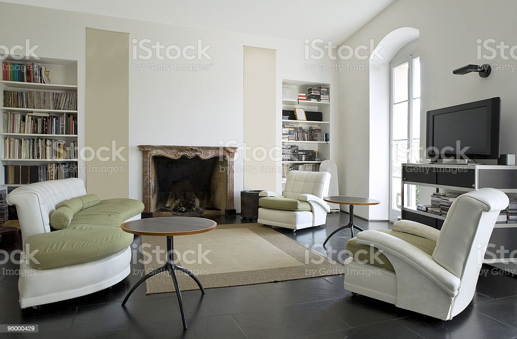 loft interior royalty-free stock photo