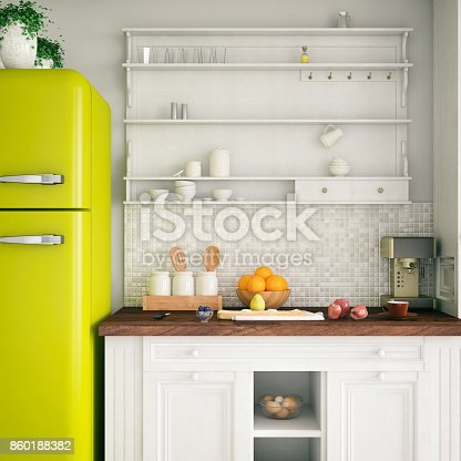 Loft kitchen design