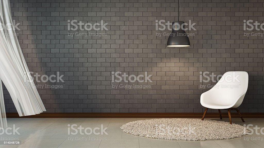 Loft Living and brick wall