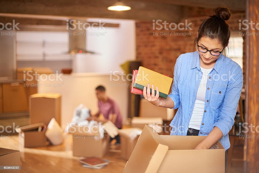 loft living stock photo