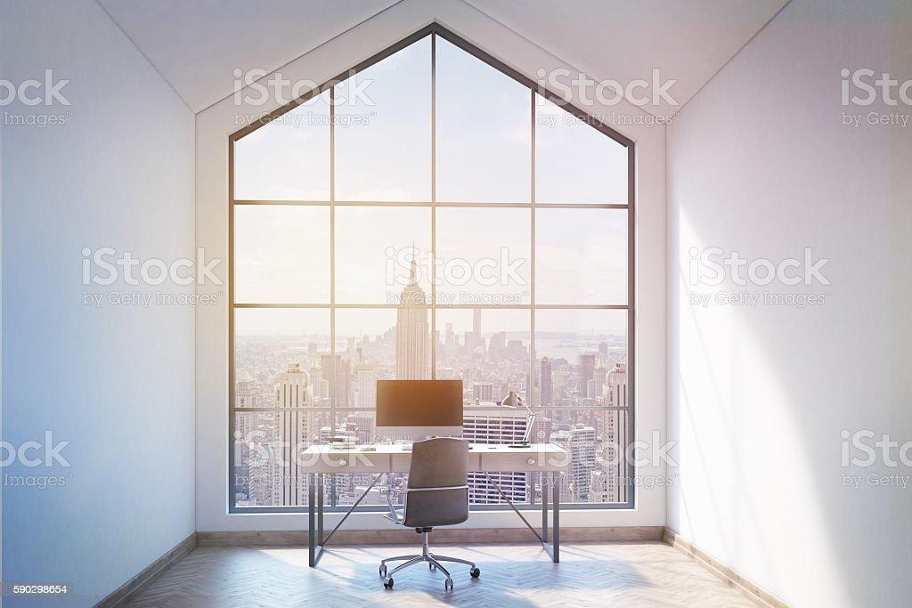 Loft office interior Стоковые фото Стоковая фотография