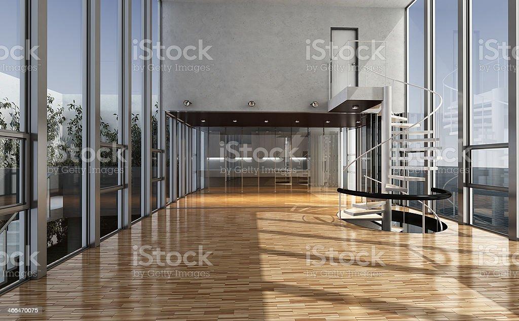 Loft stock photo