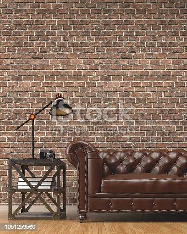 Loft room background