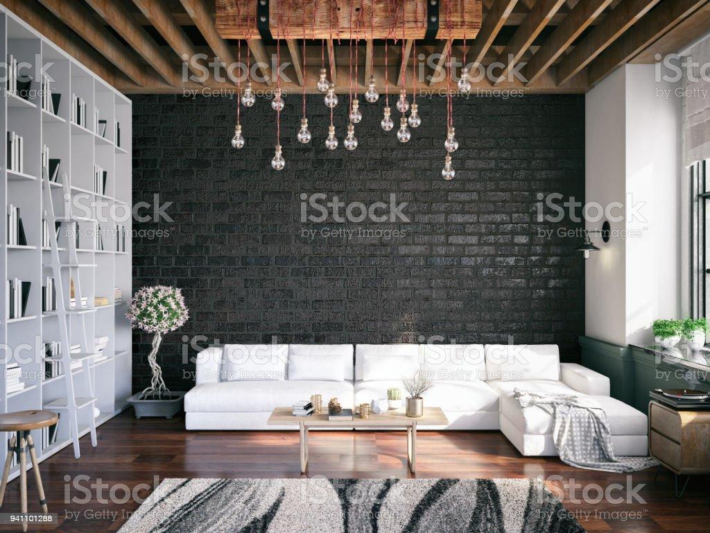 chambre loft – photos et plus d'images de a la mode   istock