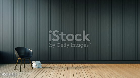 istock Loft & Simple Living room 500111714