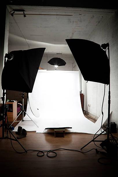 Loft Studio stock photo
