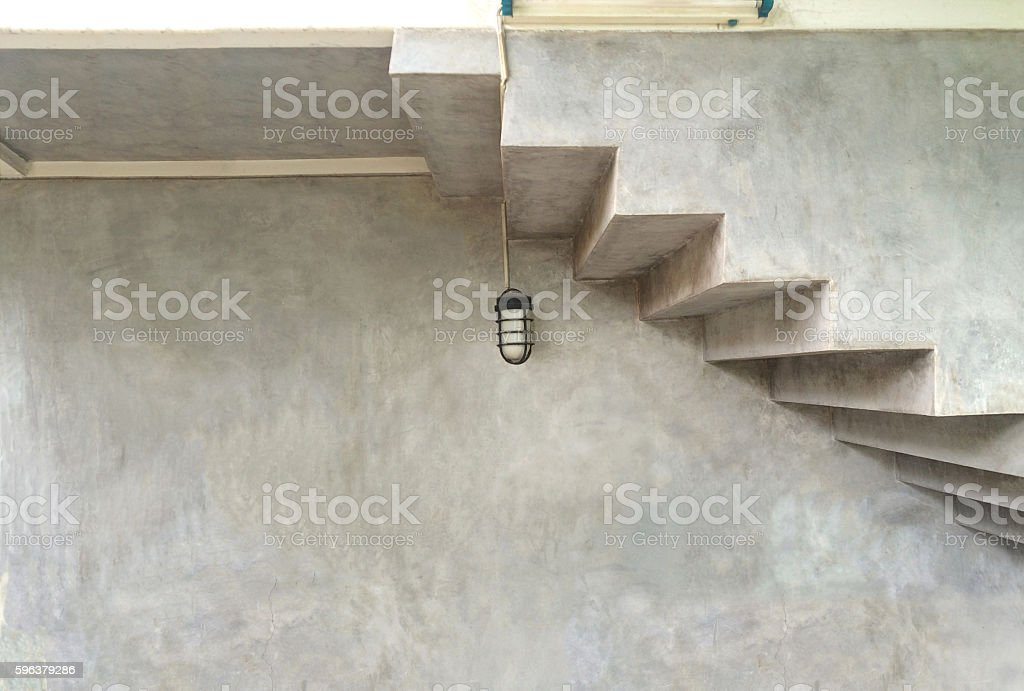 Loft style of house exterior stock photo