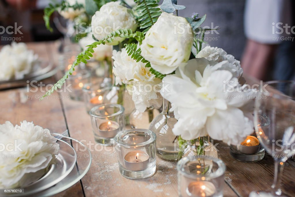 Loft style wedding table – Foto