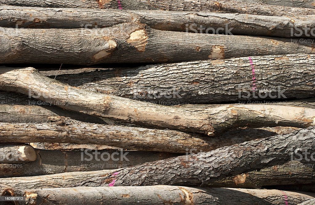 Log Background royalty-free stock photo
