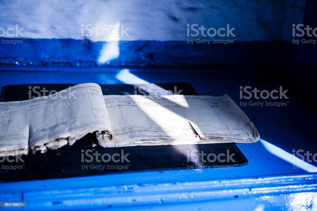 Log book royalty-free stock photo