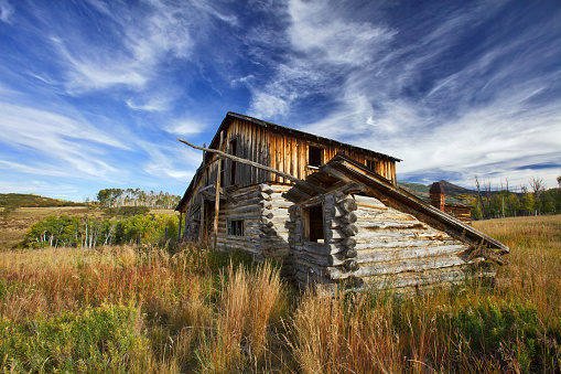 istock Log Cabin, Barn, and Shed 1050996908
