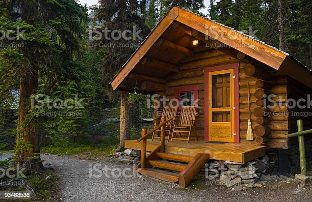 Photo of Log Cabin In The Forest