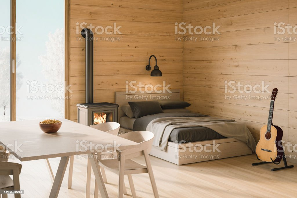 Log Cabin Interior – Foto
