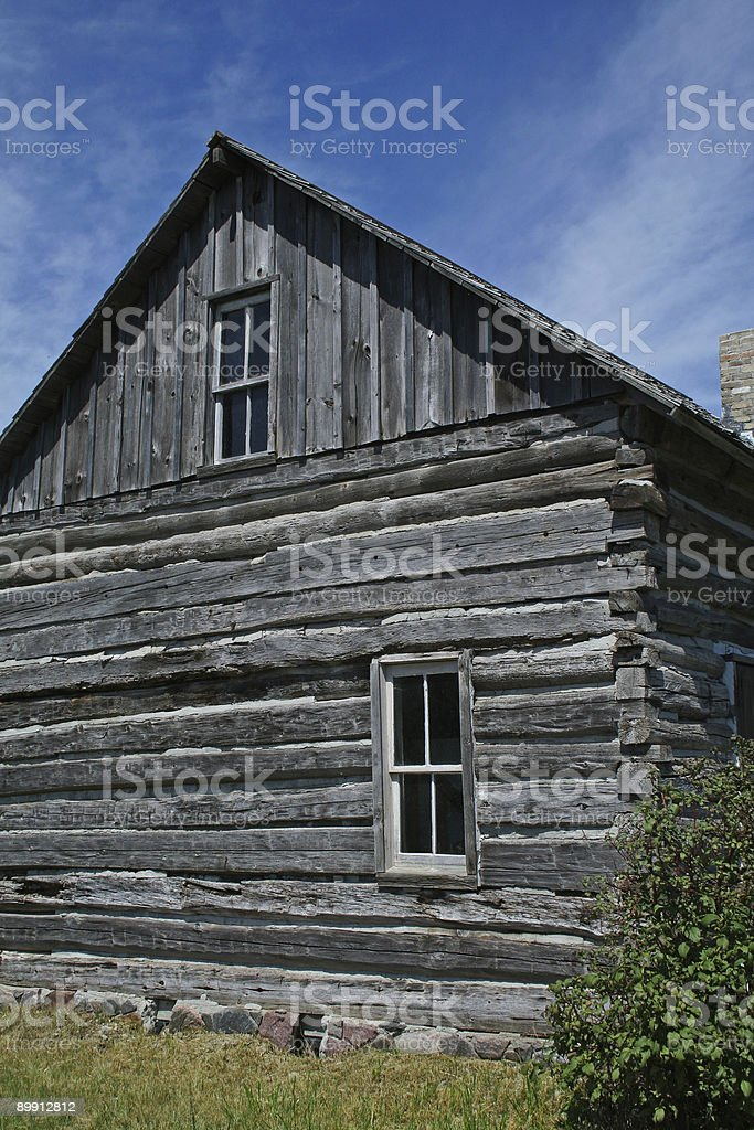 Log Cabin royalty-free stock photo
