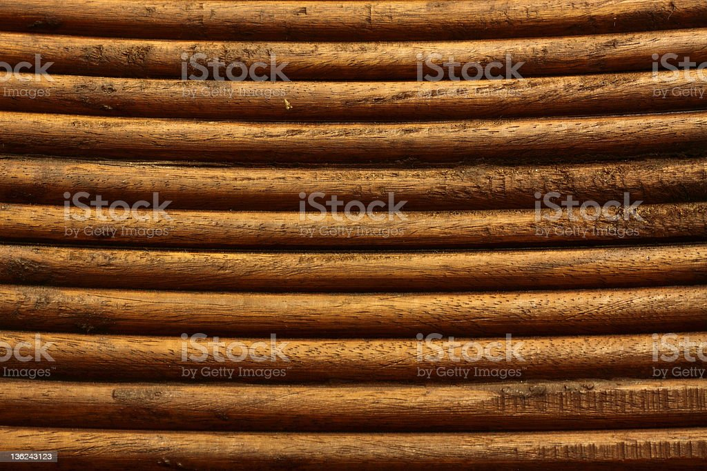 Log Cabin Siding - Wooden royalty-free stock photo