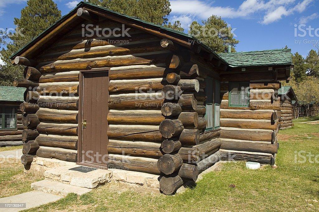 Log Cabins royalty-free stock photo