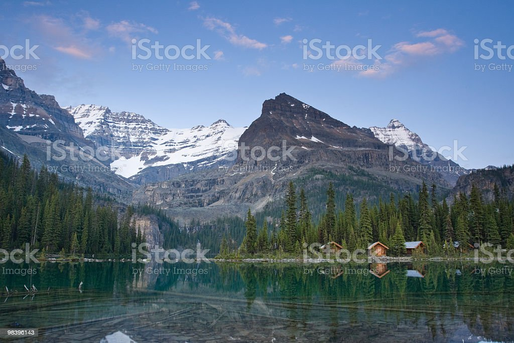 Log cabine foto stock royalty-free