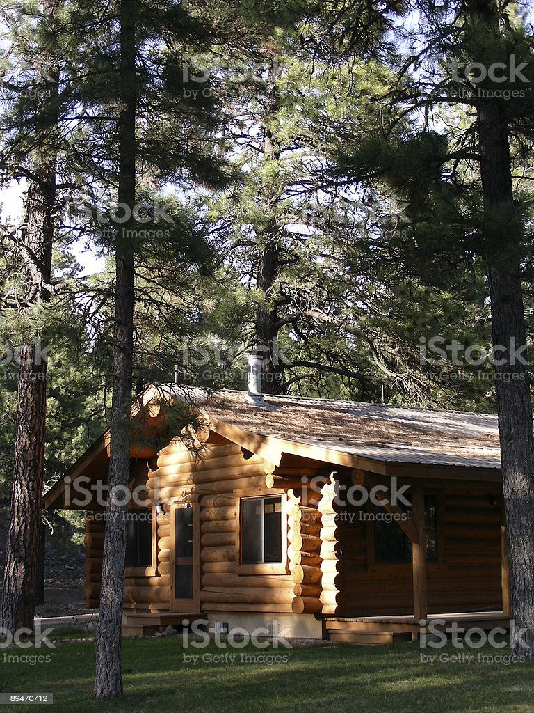 Log Home royalty-free stock photo