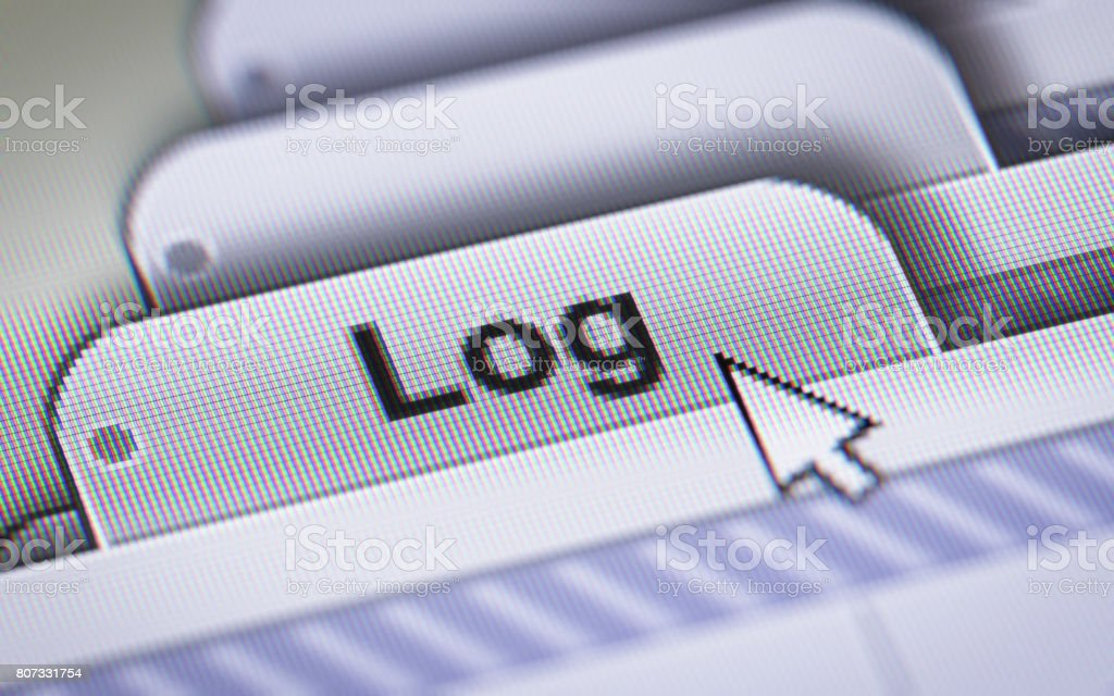 Log stock photo