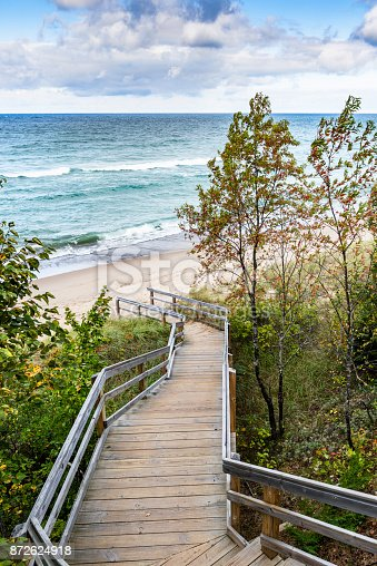 136169151 istock photo Log Slide Overlook 872624918