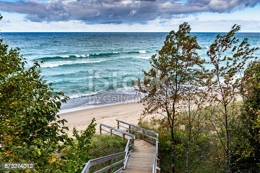 136169151 istock photo Log Slide Overlook 873274012