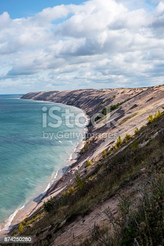 136169151 istock photo Log Slide Overlook 874250280