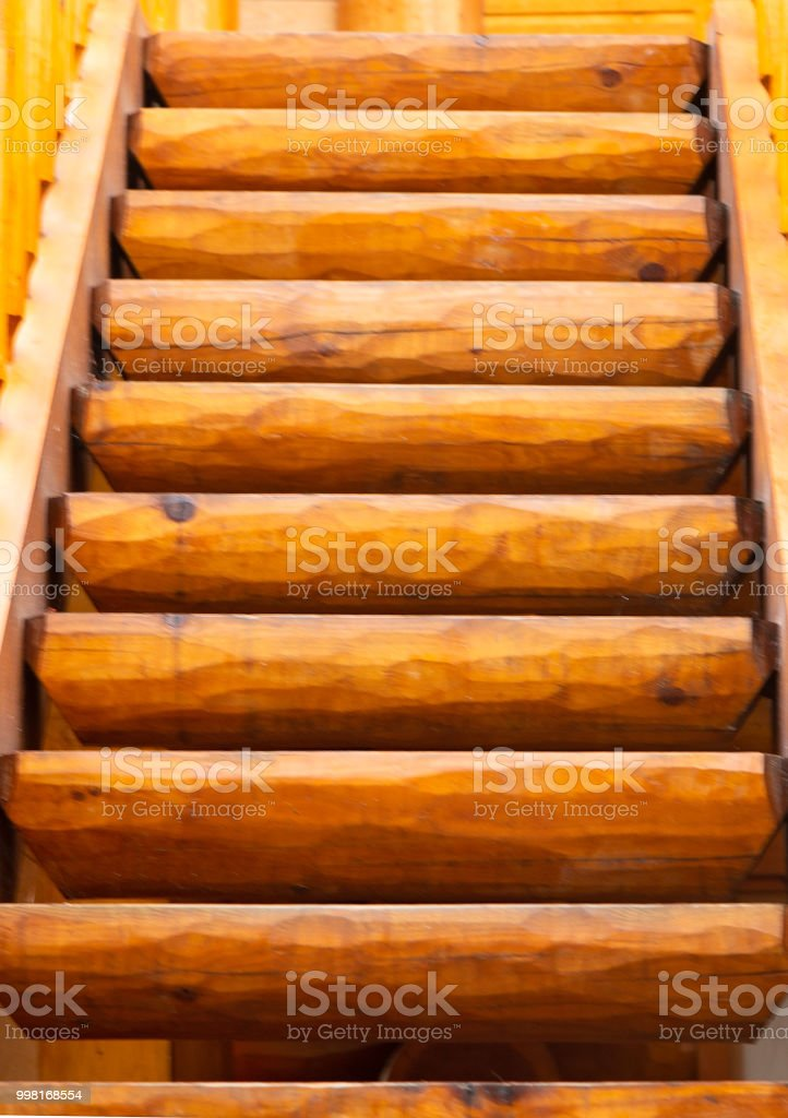 Log Stairway Stock Photo   Download Image Now   IStock