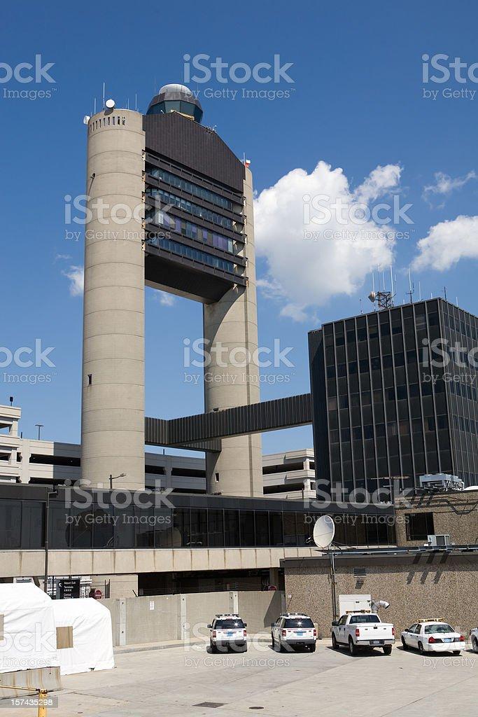 Logan Control Tower stock photo