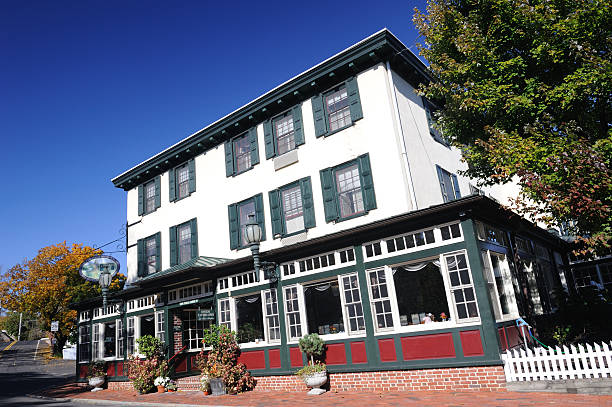 Logan Inn in New Hope stock photo