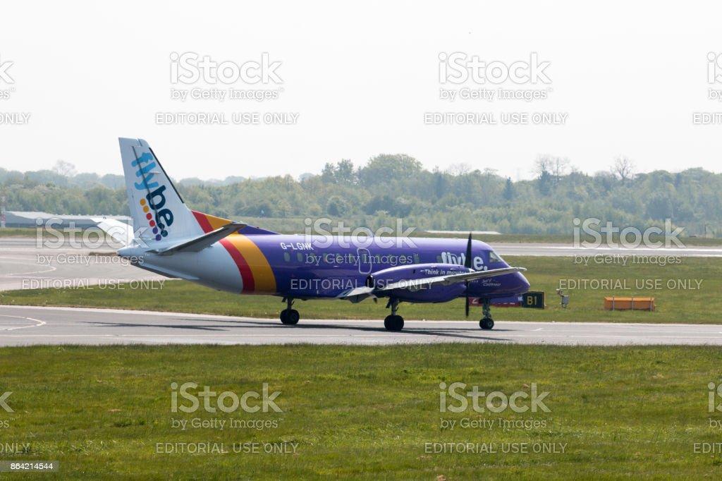 Loganair Saab 340B royalty-free stock photo